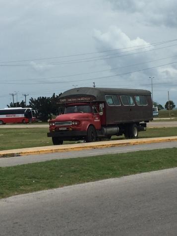 Bus für Einheimische