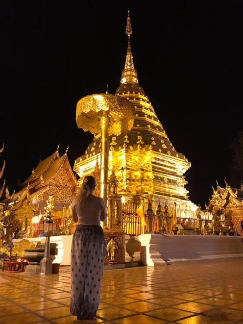 Doi Suthep by night