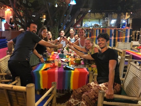 Private beach party with the Krabi Gang