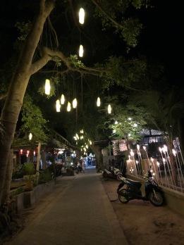 Road on Koh Tao