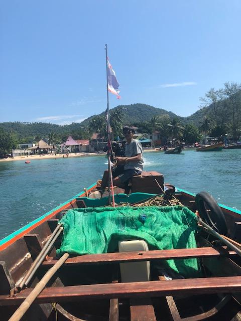 Taxi Boat to Mango Bay