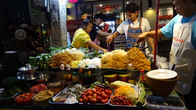 Street Food on Khaosan