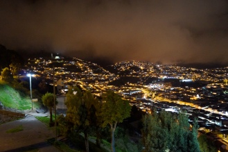 Quito by night
