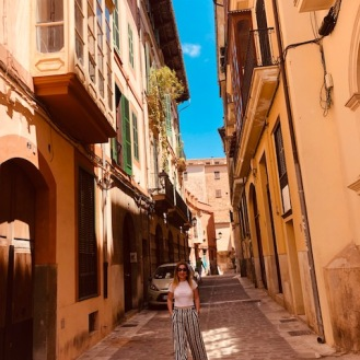 The streets of Palma