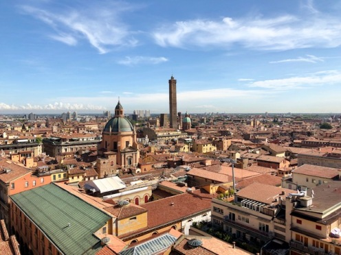 Bologna from the top