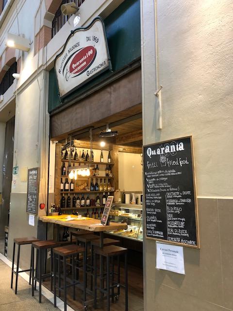 Mercato delle Erbe, Quaranta - the place to eat Tortellini