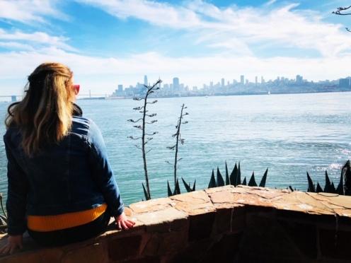 Alcatraz San Francisco view