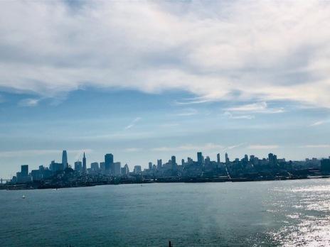 View on San Francisco from Alcatraz