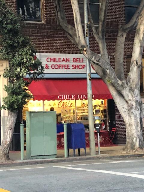 Mission District: Chilean Deli & Coffee Shop