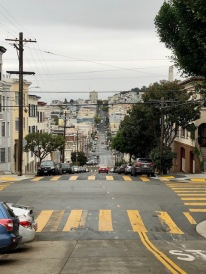 Lombard Street - the opposite direction