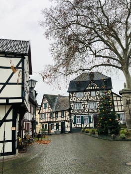 Erpel historic centre